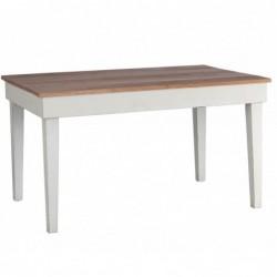 mesa Blanca Con Sobre De Olmo