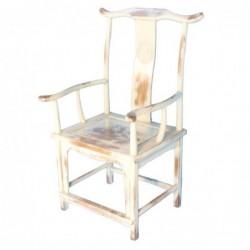 silla blanca