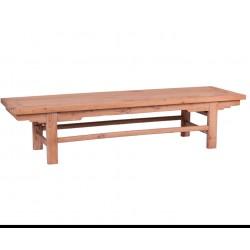 banco madera de olmo lavada