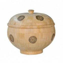 caja redonda con tapa