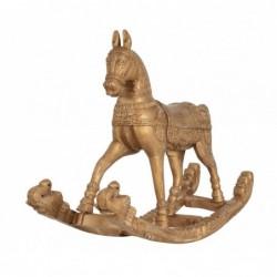 caballo balancín de madera...