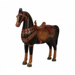 caballo madera maciza