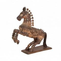 talla de caballo de madera