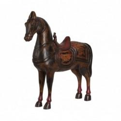 caballo antiguo de madera...