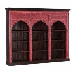 librería con arcos