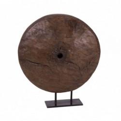 rueda decorativa de madera...