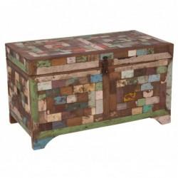 arcón de madera de caolores
