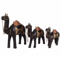 set de tres camellos de...
