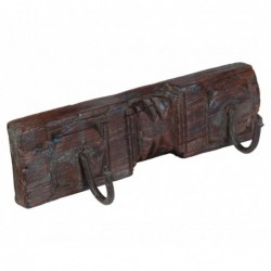 colgador de madera de dos...