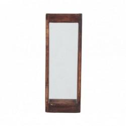marco de madera con espejo