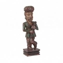 figura de madera tallada
