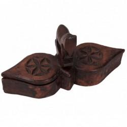 cajita de madera para especias