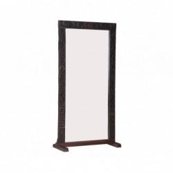 espejo con marco de madera...
