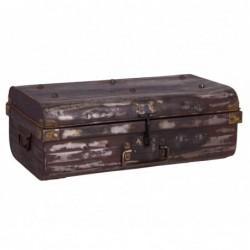 arcón- maleta de metal