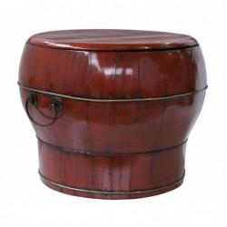 caja de madera con asa